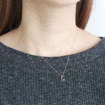 Initial Necklace【E】| K10YG