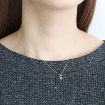 Initial Necklace【C】| K10YG