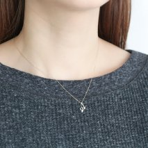 Initial Necklace【A】| K10YG