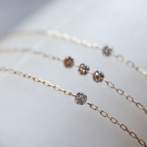 Nudie Diamond Bracelet | K10YG