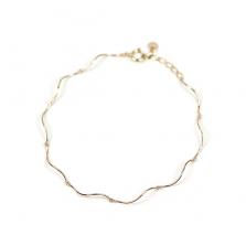 Wave Bracelet | K10YG