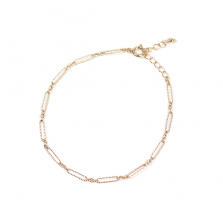 Fancy Link Chain Bracelet | K10YG