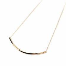Line Necklace | K10YG