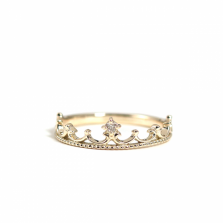 Crown Ring | K10YG