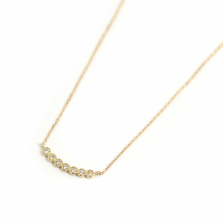 Diamond Lace Necklace | K18