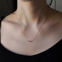 Black Diamond Lace Necklace | K18