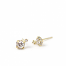 Diamond Motif Pierce | K18