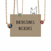 Birthstone Necklace | K18
