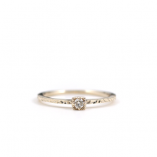 Square Diamond Ring | K10YG