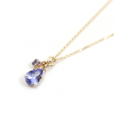 Tanzanite Necklace | K10YG