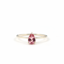 Pink Tourmaline Ring | K10YG
