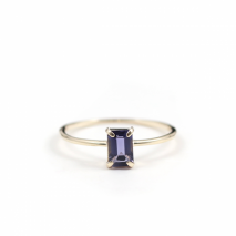 Iolite Ring | K10YG