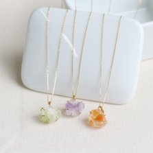 束ねseries Necklace | SV925(K22メッキ)