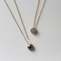 Blue Reversible Necklace | K10YG