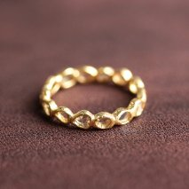 Slice Diamond Full Eternity Ring | K14YG