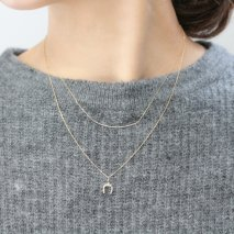 Double Strand Necklace | K10YG