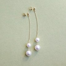 SWAROVSKI Pearl Long Pierce