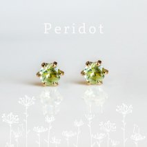 Peridot Pierce | K18<img class='new_mark_img2' src='//img.shop-pro.jp/img/new/icons14.gif' style='border:none;display:inline;margin:0px;padding:0px;width:auto;' />
