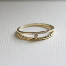 Diamond Ring | K10YG