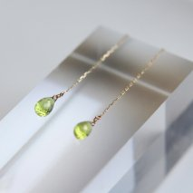 Peridot Pierce Catch | K10YG