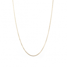 Yellow Gold Chain 70cm | K10YG