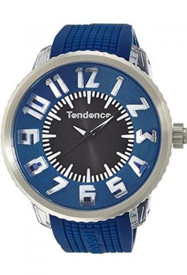 テンデンス フラッシュ  ブルー 腕時計 50mm メンズ レディース TG530002 /TENDENCE  FLASH BLUE mens