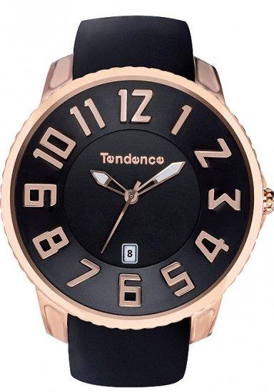 テンデンス スリム クラシック ブラック×ゴールド 腕時計 メンズ レディース TG151003/TENDENCE SLIM CLASSIC BLACK/ROSE GO…