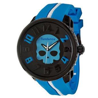 【コラボ】テンデンス×ハイドロゲン ガリバーラウンド 腕時計 メンズ レディース ブラック×ブルー 05023011B2/TENDENCE hydrog…