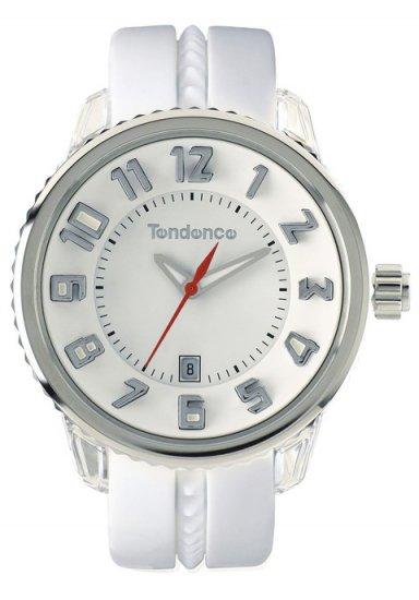 テンデンス ガリバーラウンド ミディアム41mm ホワイト&シルバー 腕時計 メンズ レディース TG930113/GULLIVER MEDI…