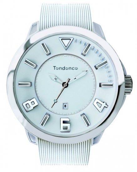 テンデンス スポーツ ホワイト×シルバー 腕時計 tt530005/TENDENCE SPORT WHITE×SILVER