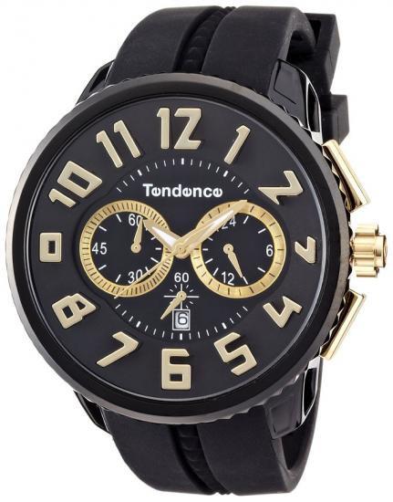 テンデンス ガリバーラウンド クロノグラフ ブラック 腕時計 メンズ レディース TG460011 02046011AA/TENDENCE GULLIVER ROUND TG460011 BLA…