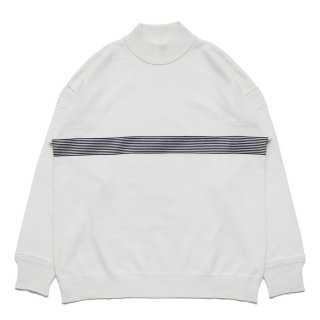 Kaiko Line Mock Knit / WHITE
