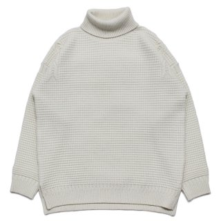 Rocca Turtle Knit / WHITE