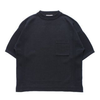 Seiran Mock Knit / BLACK