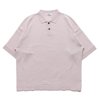 Mikage Knit Polo / PINK