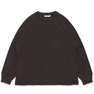 Tasukigake Knit / BROWN