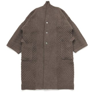 Uminari Knit Coat  / MOCHA