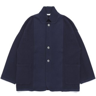 Yukima Knit Jacket / NAVY