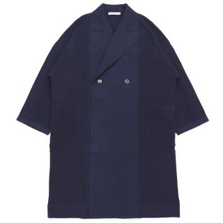 Samidare Knit Coat / NAVY