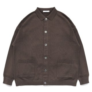 Oboro Collor Cardigan / BROWN