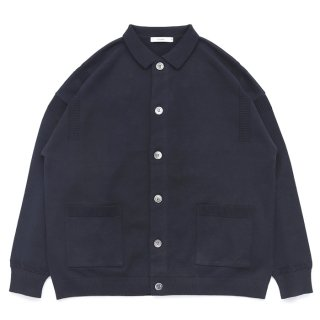 Oboro Collor Cardigan / BLACK