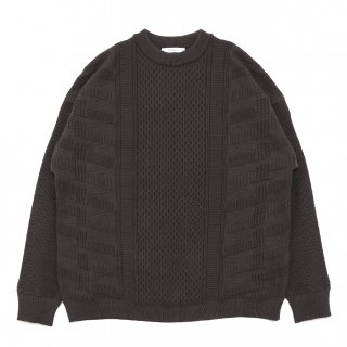 Arare Knit / BROWN