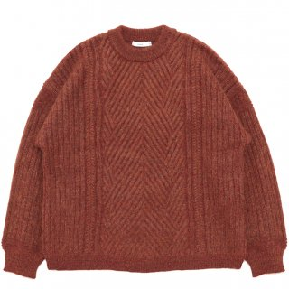 Yukitsuri Knit / ORANGE