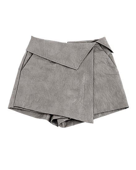 JUST-WAIST CULOTTE SKIRT