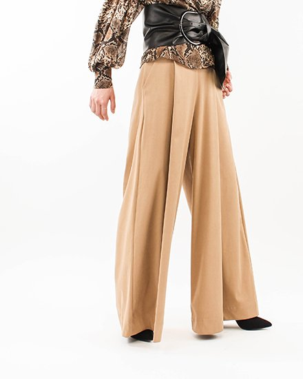 SMOOTH TOUCH WIDE PANTS