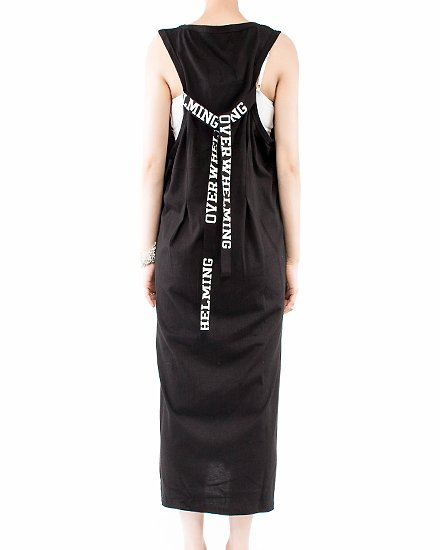 STRIG LONG DRESS