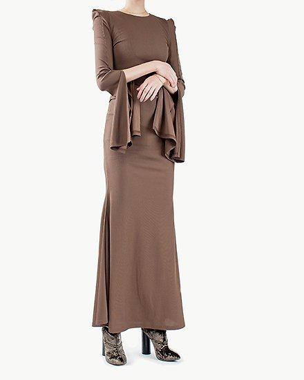 CURVY LONG DRESS