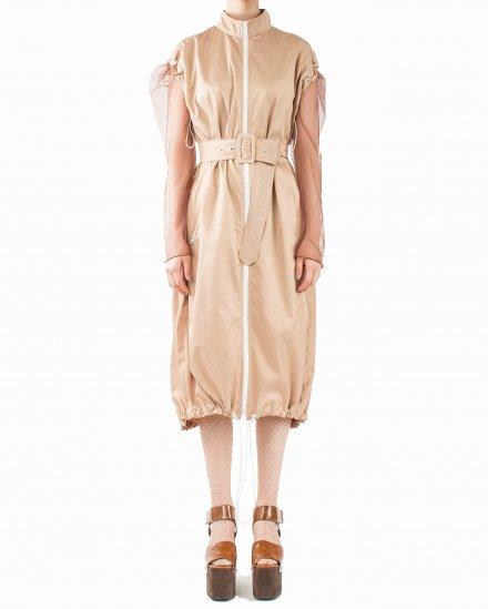 SLEEVELESS ZIPPER DRESS