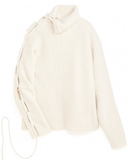 【 NEW 】LOOSE TURTLE-NECK KNIT