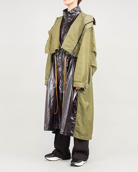 【 NEW 】COLOR STRING LAYERD COAT